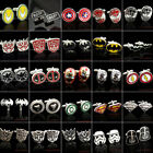 NEW SUPER HERO CUFFLINKS MENS WEDDING NOVELTY SUPERHERO CUFFLINKS $2.7 USD on eBay
