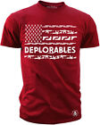 Men's T-Shirt Delporables American Pride Trump 2A T-Shirt S M L XL XXL XXXL Red