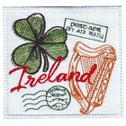 IRELAND STAMP EMBROIDERED PATCH