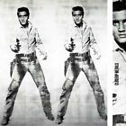 """37W""""x43H"""" ELVIS 1963 by ANDY WARHOL, PRESLEY Repro - CHOICES of CANVAS"""