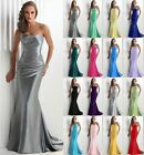 Formal Long Ball Gown Party Prom Bridesmaid Evening Dress Size6-8-10-12-14-16-18