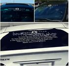 Exquisite JP VIP Lions Windscreen Front Back windshield car stickers Wall Decals