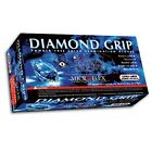 DIAMOND GRIP GLOVE PF LATEX MICROFLEX 100/Box, 10 Boxes/Case S,M,L,XL-Fast Ship