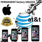 PREMIUM SPEED FACTORY UNLOCK SERVICE AT T APPLE IPHONE 7 SE 6S 6 5S 5C 5 4S 3GS