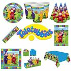 NEW Teletubbies Birthday Party Supplies Decorations Tableware Sets Plates Cups