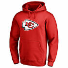 Pro Line by Fanatics Branded Kansas City Chiefs Red Primary Logo Hoodie