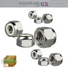 LOCK NUTS DIN982 - M3, M4, M5, M6, M8, M10 - STAINLESS STEEL A4 SELF-LOCKING