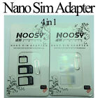 Sim Card Adapter Nano Micro Standard Converter Tray Kit for iPhone Samsung Nokia