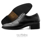 [Brand New] The Maling Mens Efron Black Brown Dress shoes