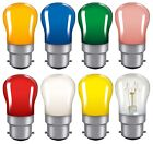 Coloured Pygmy 15W BC B22 Bayonet Cap Colour Light bulb Lamp Sign Lamp