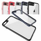 Ultra thin Crystal Clear Rubber Shockproof Back Case For Apple iPhone 7 Plus 6 s