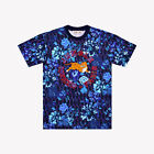 NWT KENZO x H&M [Men's T-shirt with Appliques/Blue/ Size XS, S]