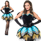 Ladies Butterfly dressing up costume adult sexy fancy dress Book day adult party