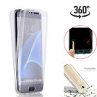 Samsung Galaxy S7 Edge Shockproof Tpu 360 Full Protective Rubber Soft Case Cover
