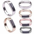 Jewelry Flower Metal Band Strap Bracelet Bangle For Fitbit Alta Stainless Steel