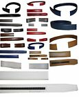 """Women/Men's Leather belt strap only Replacement strap for Auto-lock buckle 1.10"""""""