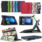 Folio Case Cover For Lenovo IdeaPad Miix 510 12.2 inch Notebook+ Glass Protector