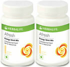 2 x Herbalife Afresh Energy Drink Instant Tea Ginger Lemon Peach Elaichi Cinamon