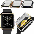 Super-Slim  Electroplate Metal Hard Case Cover For iWatch Apple Watch 38 & 42mm