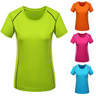 New Women's Quick Dry Short Sleeve Hiking T-shirt Outdoor Sport Famale Tee Shirt