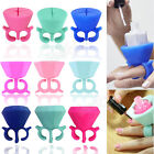Art Polish Holder Nail Silicone  Flexible Durable Wearable Finger Bottle Stand