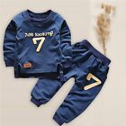 US 2pcs Newborn Toddlers Baby Boys Girls Clothes T-shirt Tops+Pants Outfits Set