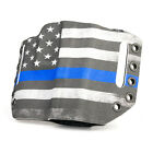 OWB Kydex Holster Thin Blue Line for Ruger Handguns