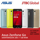 New Asus ZenFone Go ZB452KG 4.5 Inch 3G 8GB Factory Unlocked Android Smartphone
