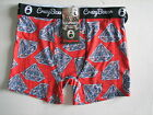NWT CRAZY BOXER Novelty Print Men's Underwear Boxer Briefs  M L