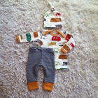3pcs Toddler Newborn Baby Boy Girl T-shirt Tops Pants Outfits Set Clothes lot US