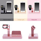 Charging Dock Cradle Charge Stand Holder Desktop For Apple Watch iPhone 6S 7 7P