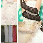 Colors Fashion Wedding Gift Stretch Long Opear Bridal Lace Gloves Women's