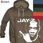 MEN'S PULLOVER HOODIE JAY-Z HIP HOP GUITAR #190- S to 4XL PLUS