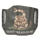 Walther - OWB Kydex Holster Don't Tread BLK