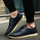 New Men's leather Shoes Fashion Breathable Casual shoes Sneakers
