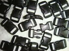 3/8'' (10mm) Curved side release plastic Buckle for Paracord Bracelets-pick qty