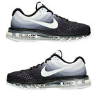 NIKE AIR MAX 2017 MEN's M RUNNING MESH BLACK - WHITE AUTHENTIC NEW IN BOX USA SZ