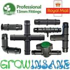 Antelco 13mm Tee,Elbow,End Fittings Garden Irrigation Pipe Connector Hozelock