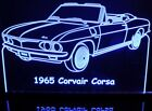 """1965 Corvair Corsa Edge Lit Awesome 21"""" Lighted Sign Plaq..."""