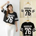 Casual Fashion Letter Simple Printed Believe Top Woman Short Sleeve Tops T-shirt