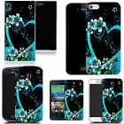 art case cover for many Mobile phones -   alluring aqua heart silicone