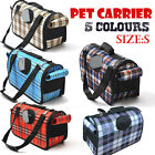 Pet Carrier Dog Cat Puppy Folding Travel Carry Bag Portable Cage Crate Small S