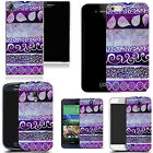 hard durable case cover for iphone & other mobile phones - purple desire print