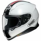 SHOEI NXR FLAGGER TC-6 FULL FACE MOTORCYCLE HELMET GLOSS WHITE RED BLACK DESIGN