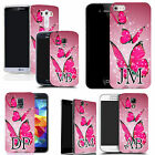 PERSONALISED INITIALS CASE FOR IPHONE MODELS - floating butterflies MONOGRAM