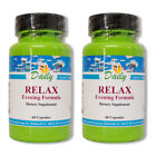 Daily Manufacturing Relax Evening Formula - 60 Capsules 2 & 3 Packs