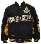 Mason Prince Hall Mens Twill Jacket Black/Gold