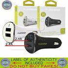 OEM PUREGEAR 24W 4.8A Dual 2 USB 2.4A Port Car Vehicle Charger Adapter UNIVERSAL