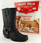 Men's Motorcycle Boots Cowboy Leather Size US 6 7 8 9 10 11 12 13 MADE IN SPAIN
