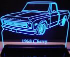 1968 Chevy Pickup 2 Edge Lit Awesome 21 Lighted Sign Led ...